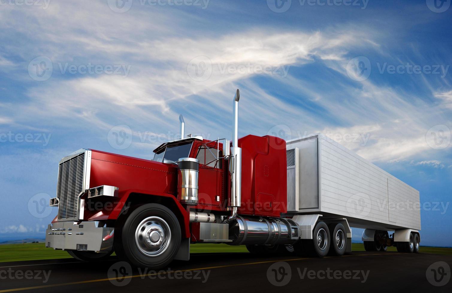 grande veículo com rodas 18 foto