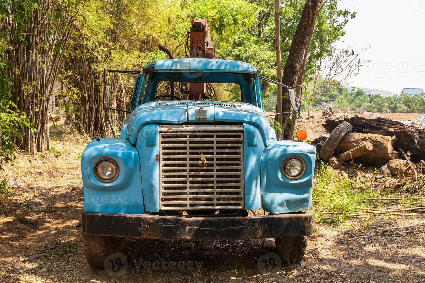 caminhão velho foto