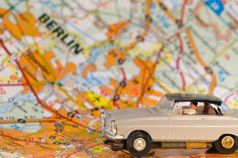 carro alemão em berlim foto