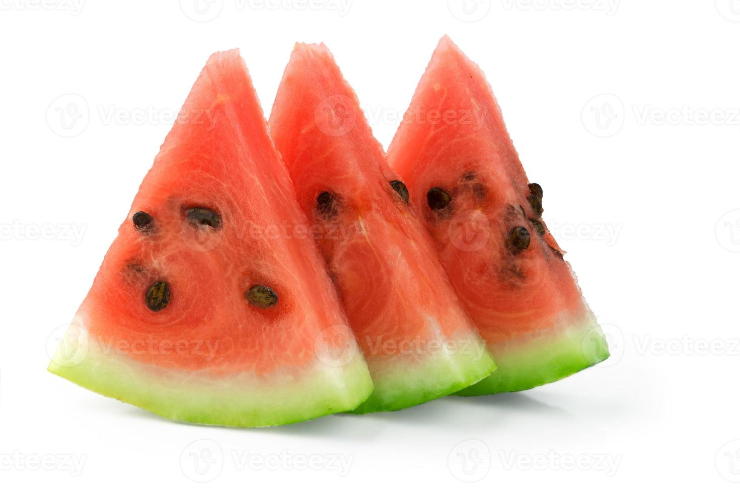 melancia fatiada foto