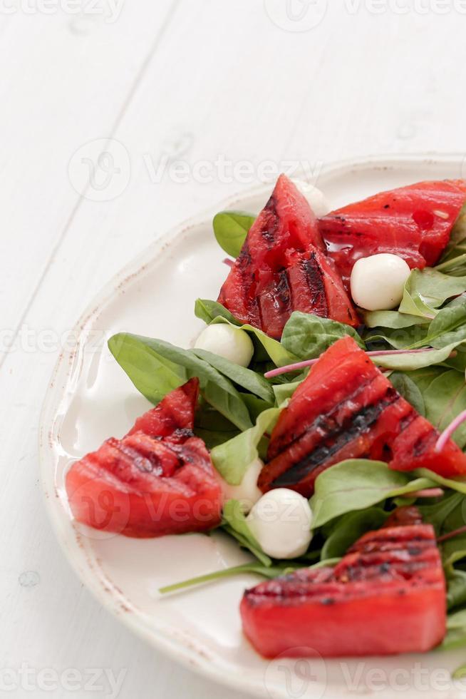 salada de melancia foto