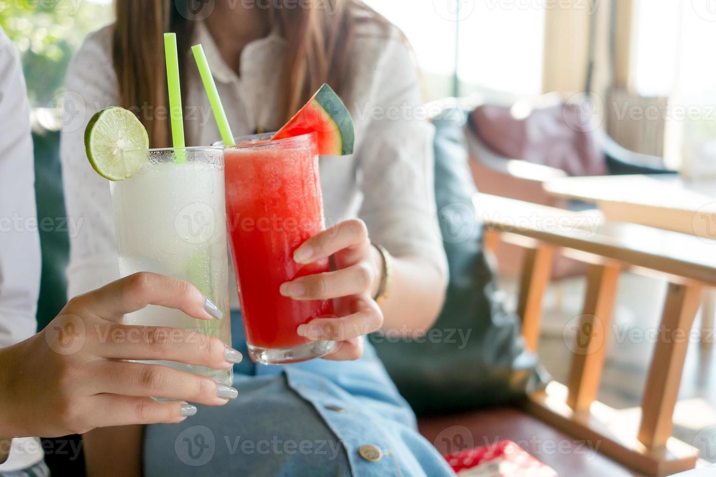 smoothie de frutas foto