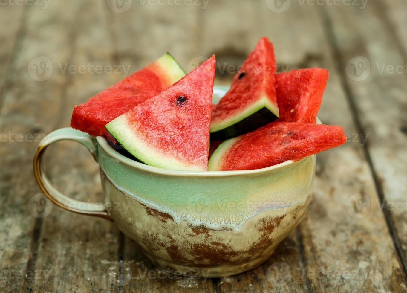 fatias de melancia foto