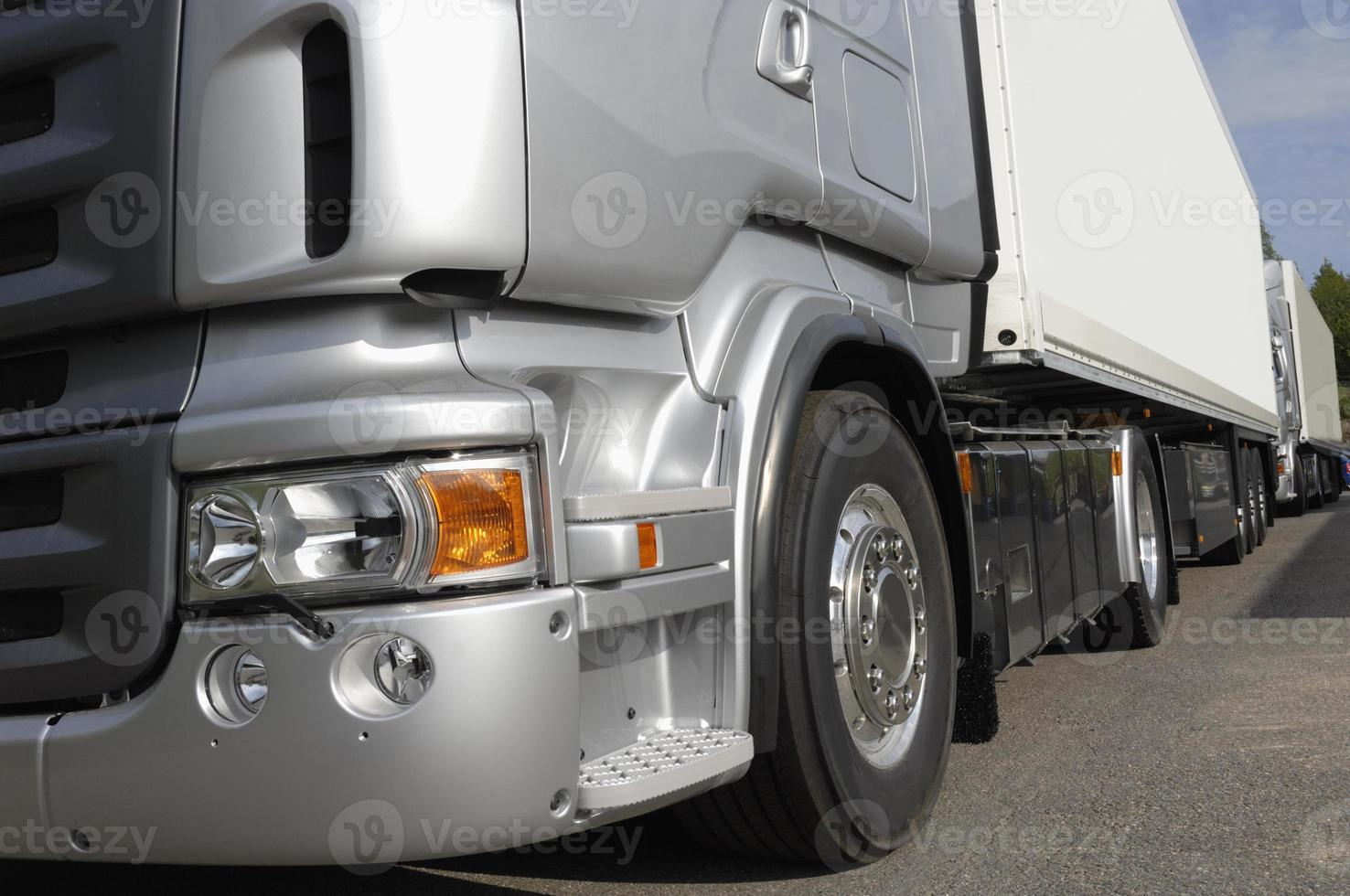 conceito de chassi de caminhão, close-ups foto