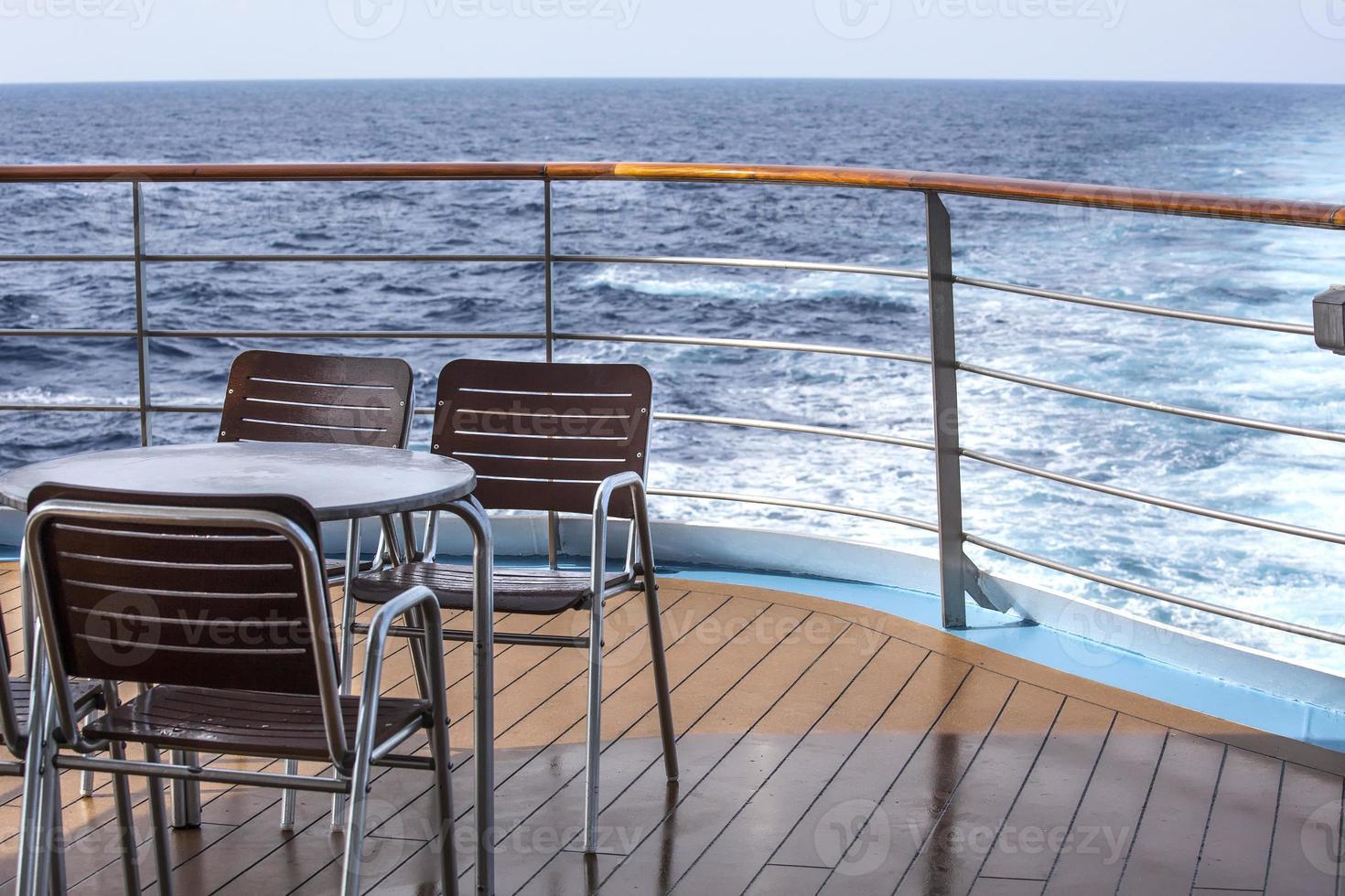 cubierta de crucero foto