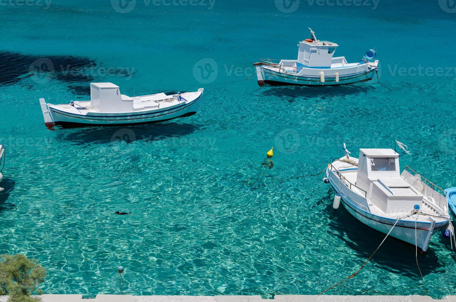 barcos de pesca foto