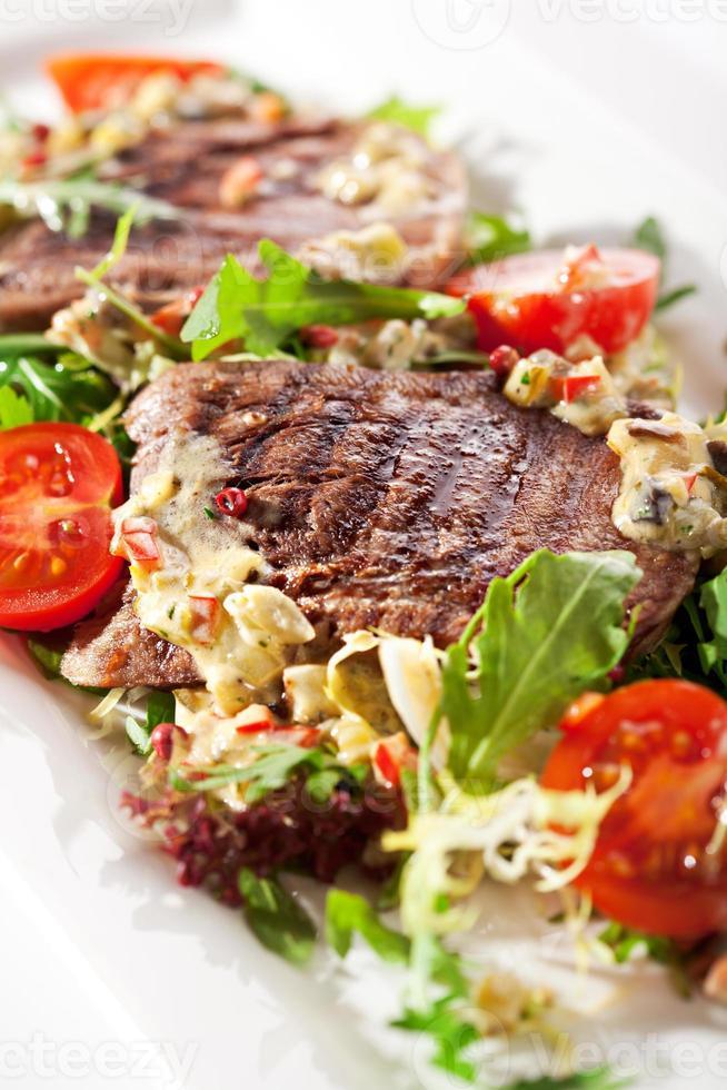 salada de língua de boi foto