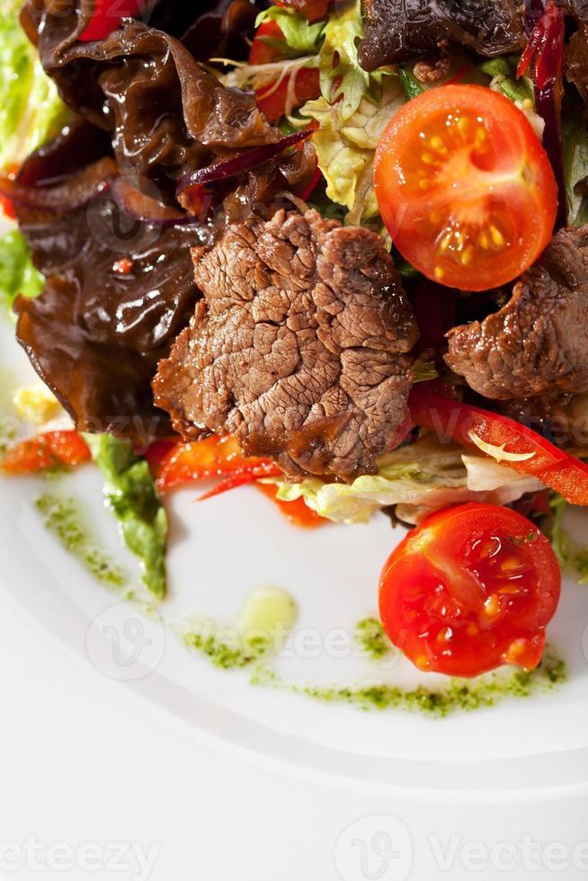 salada de vitela foto