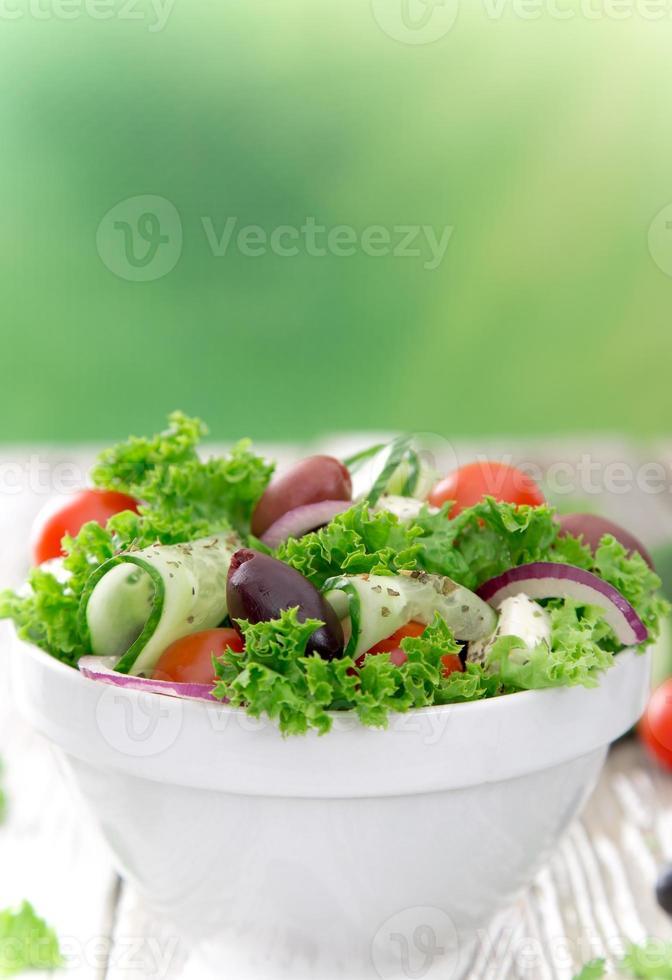salada fresca. foto