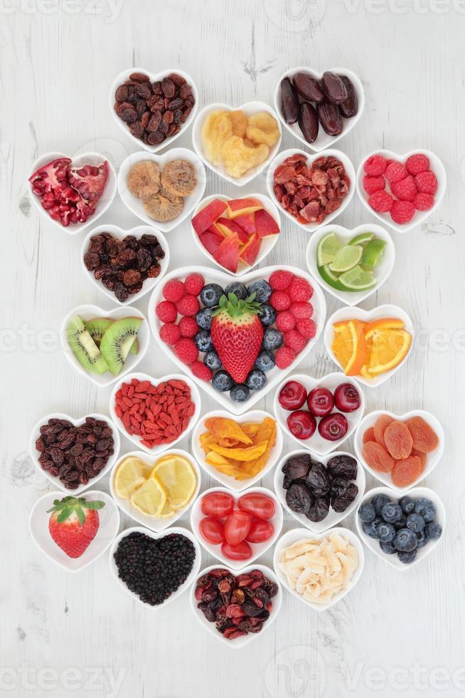 eu amo fruta foto