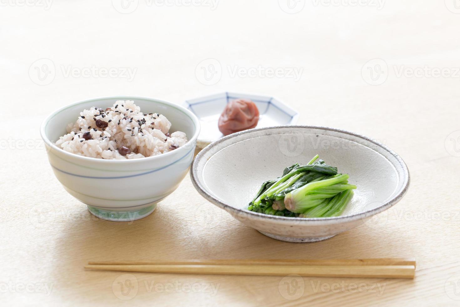 japonês saudável foto