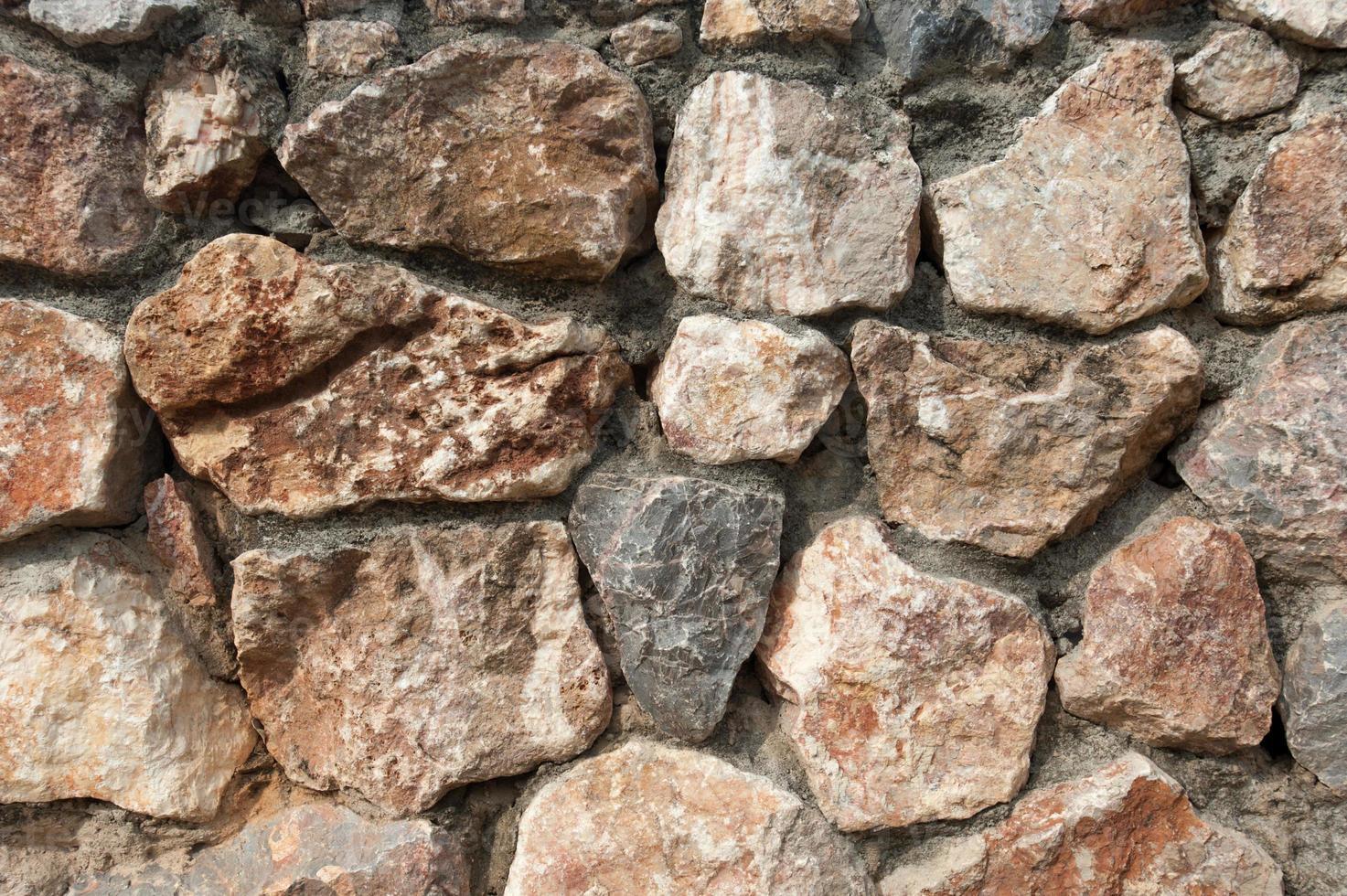 textura - parede de pedra para o fundo foto