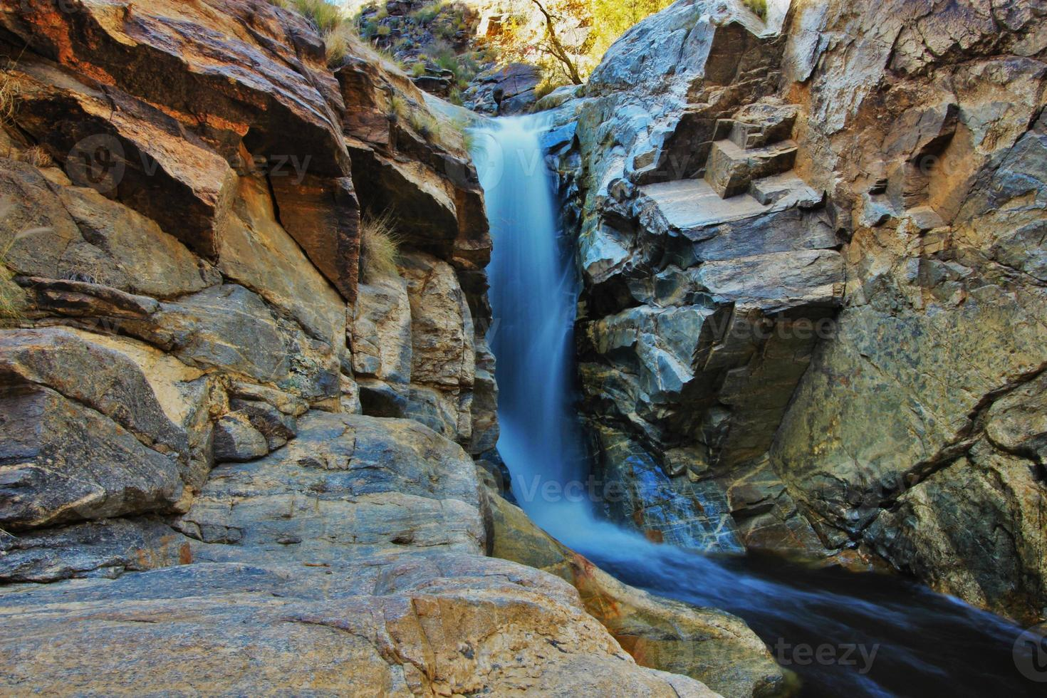 cachoeira do deserto foto