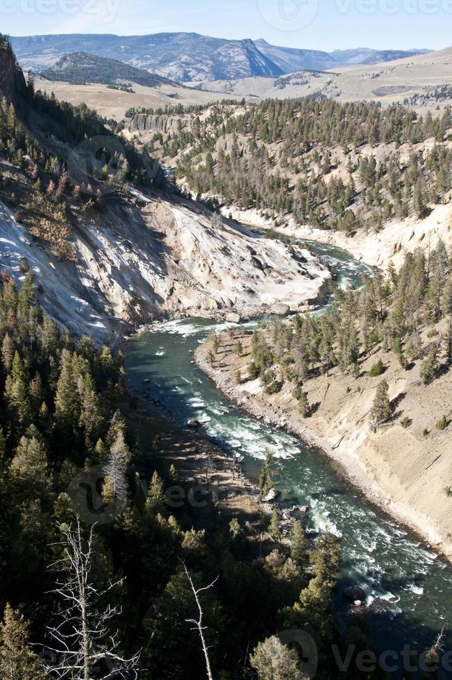 Rio Yellowstone foto