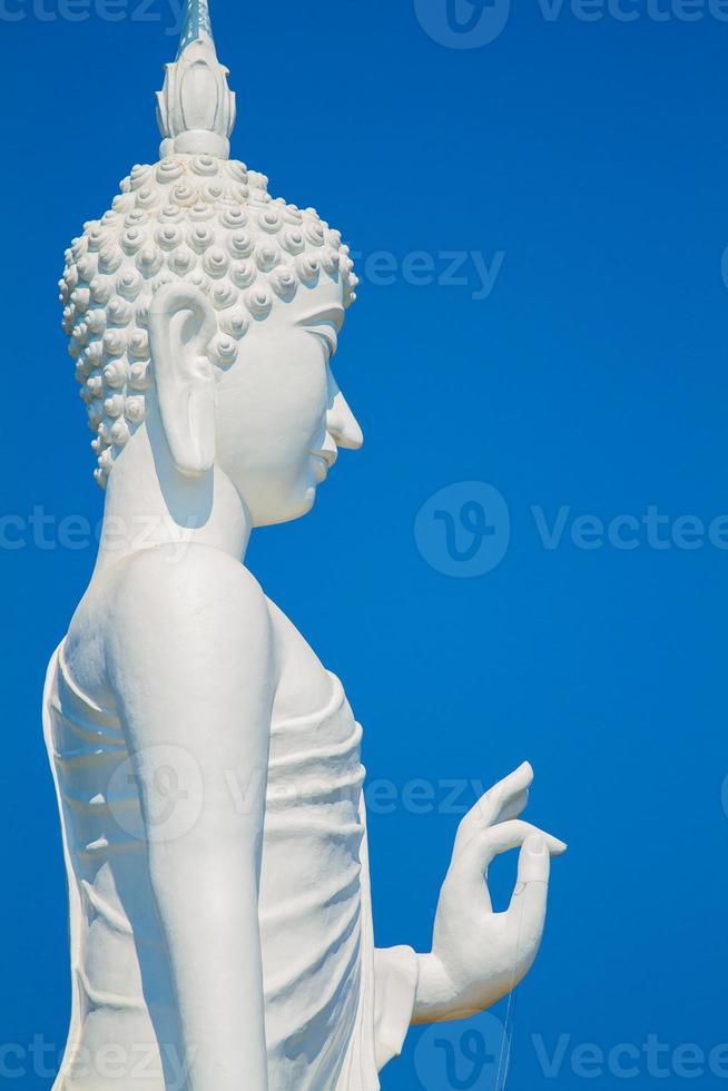 Buda branco foto