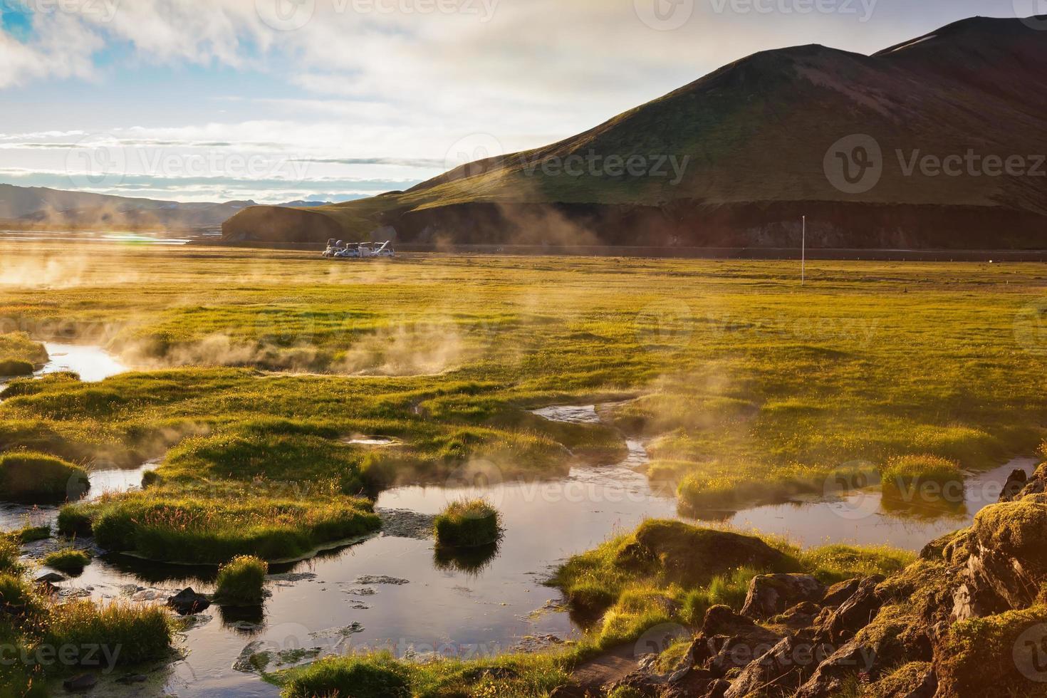 parque do nascer do sol landmannalaugar foto