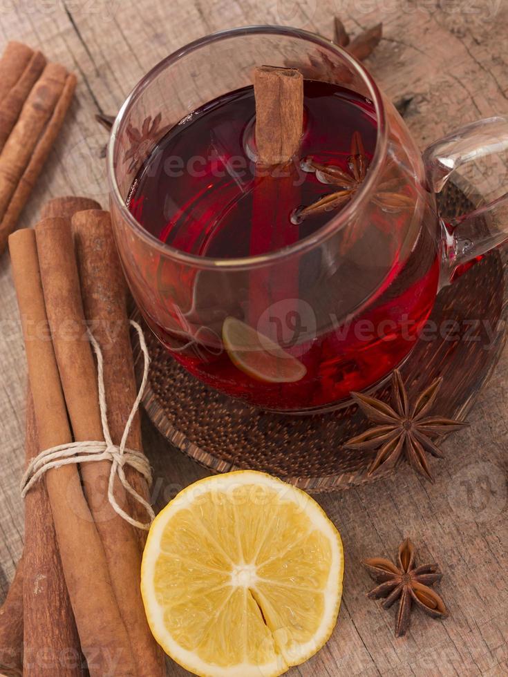 chá de inverno foto