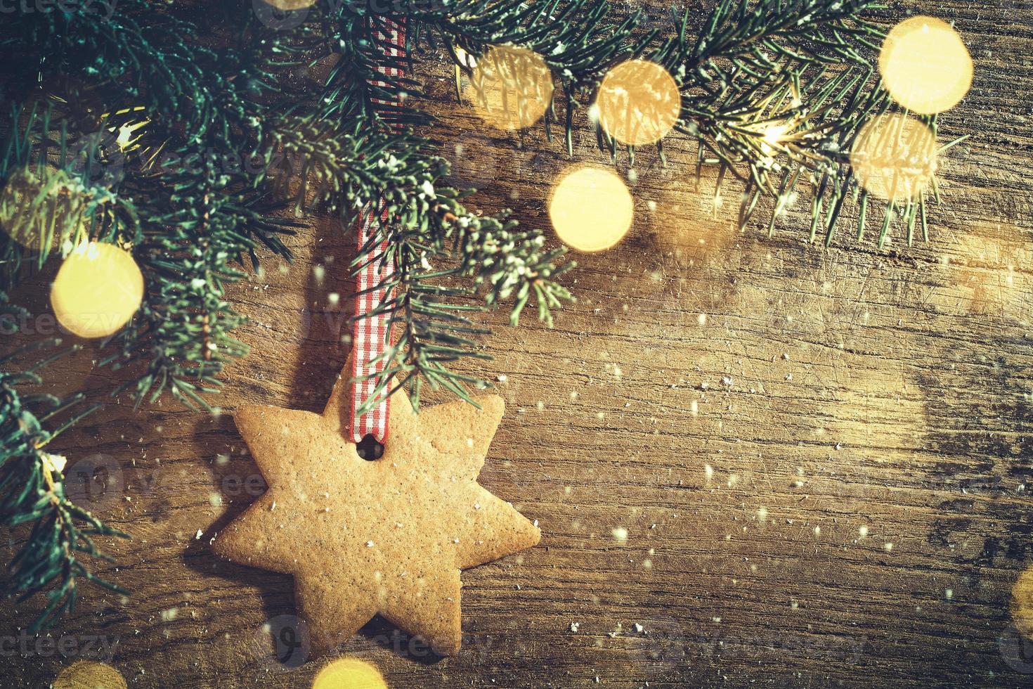 decoração de férias de inverno foto