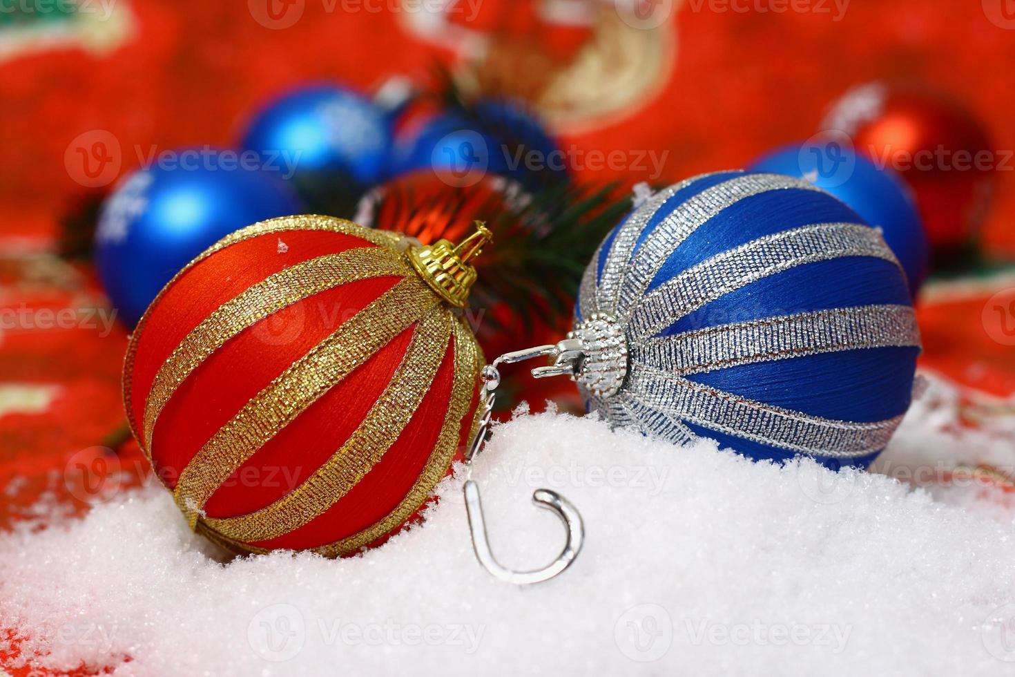 bela decoração para o natal perfeito foto