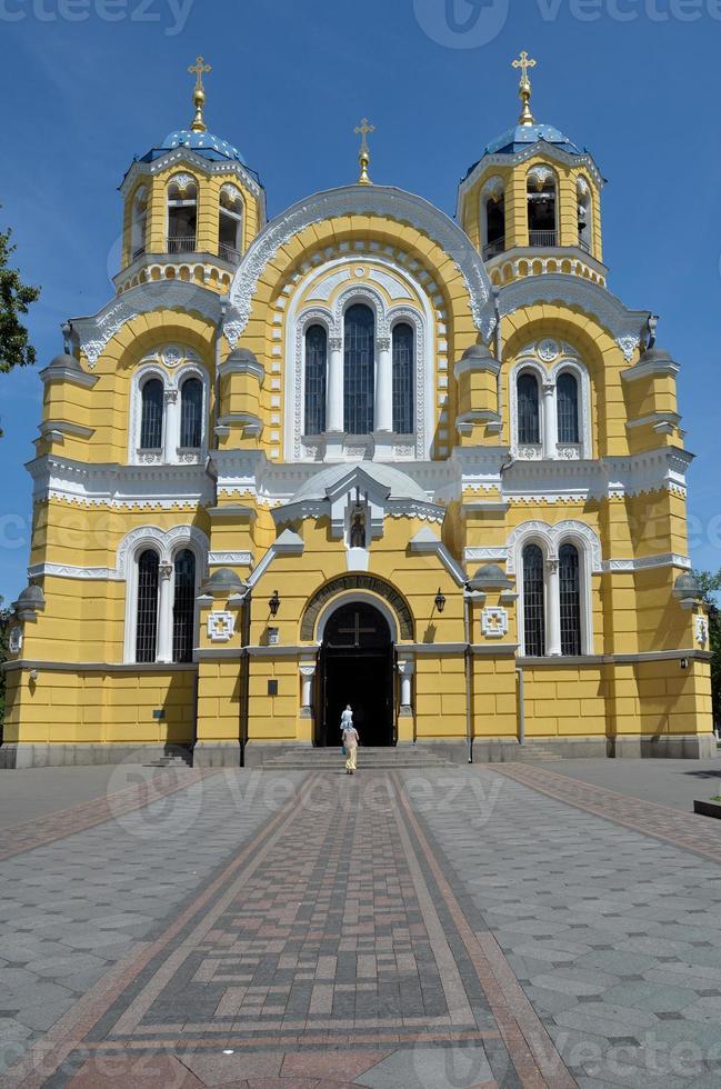 st. Catedral de Vladimir em Kiev foto