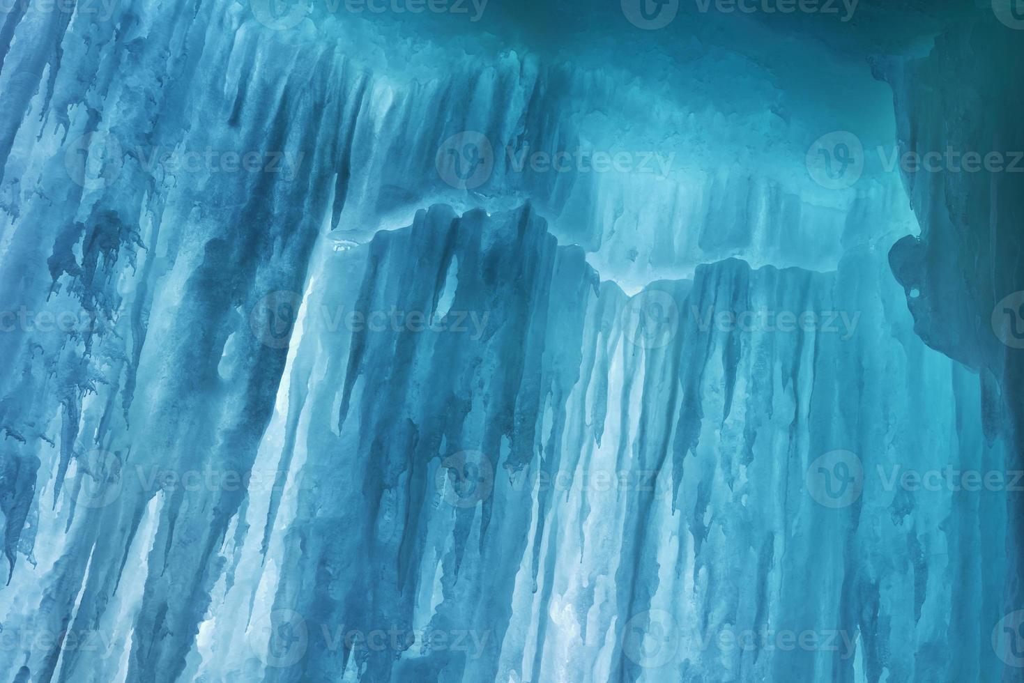 caverna de gelo da grande ilha foto