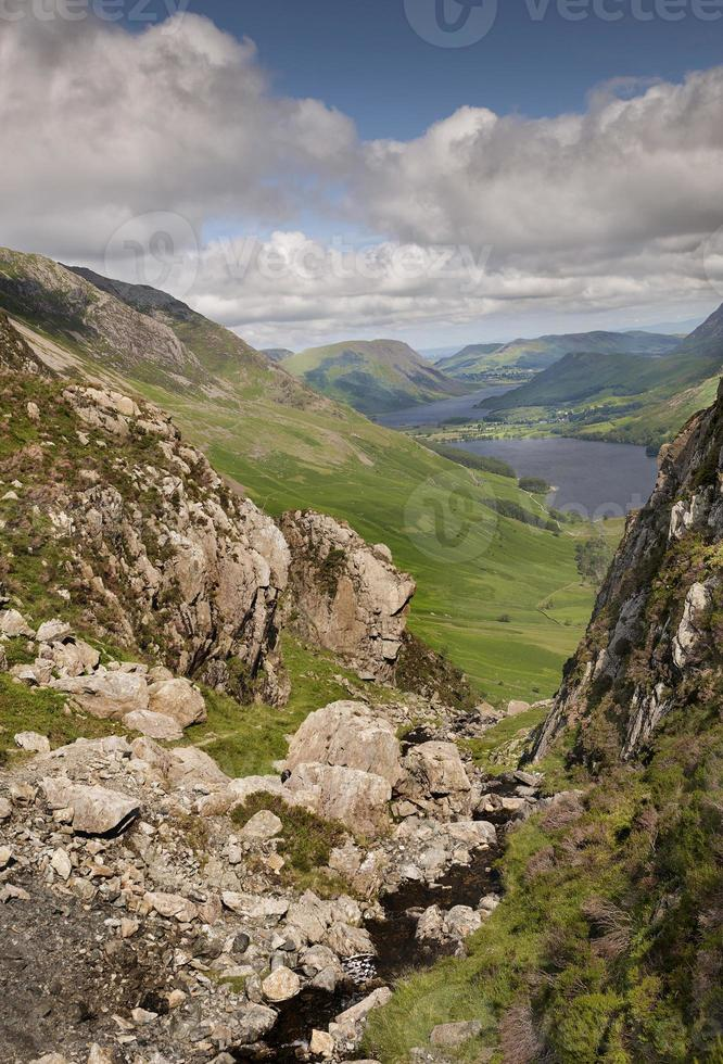 ponto de vista do distrito do lago foto