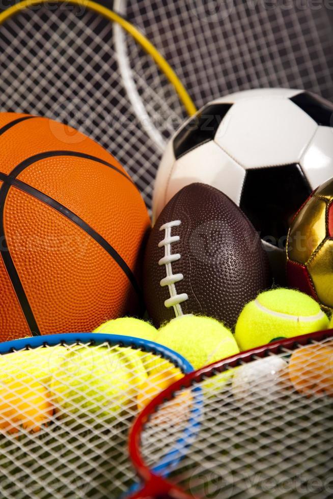 detalhe de equipamento desportivo foto