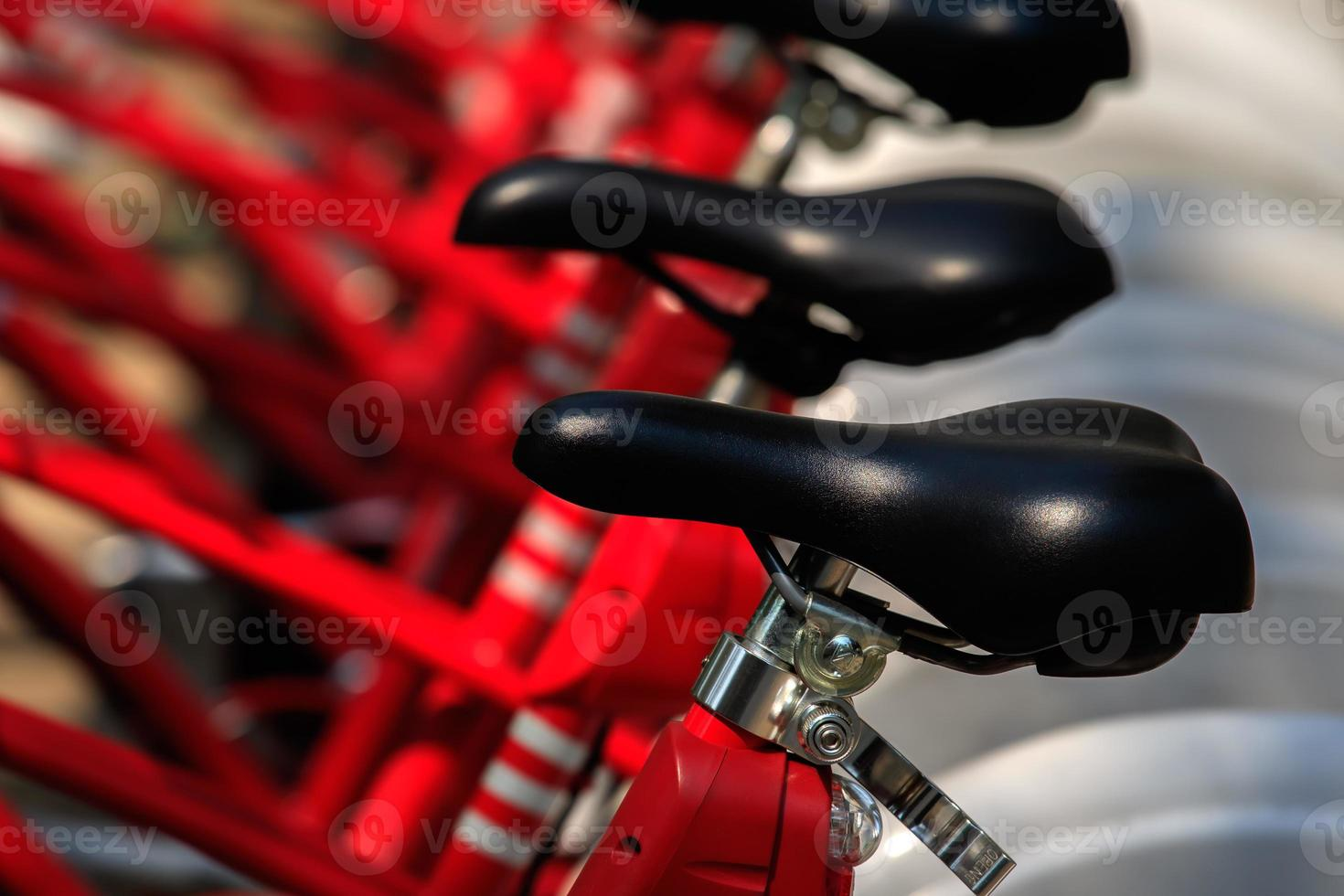 detalhe de bicicletas close-up foto