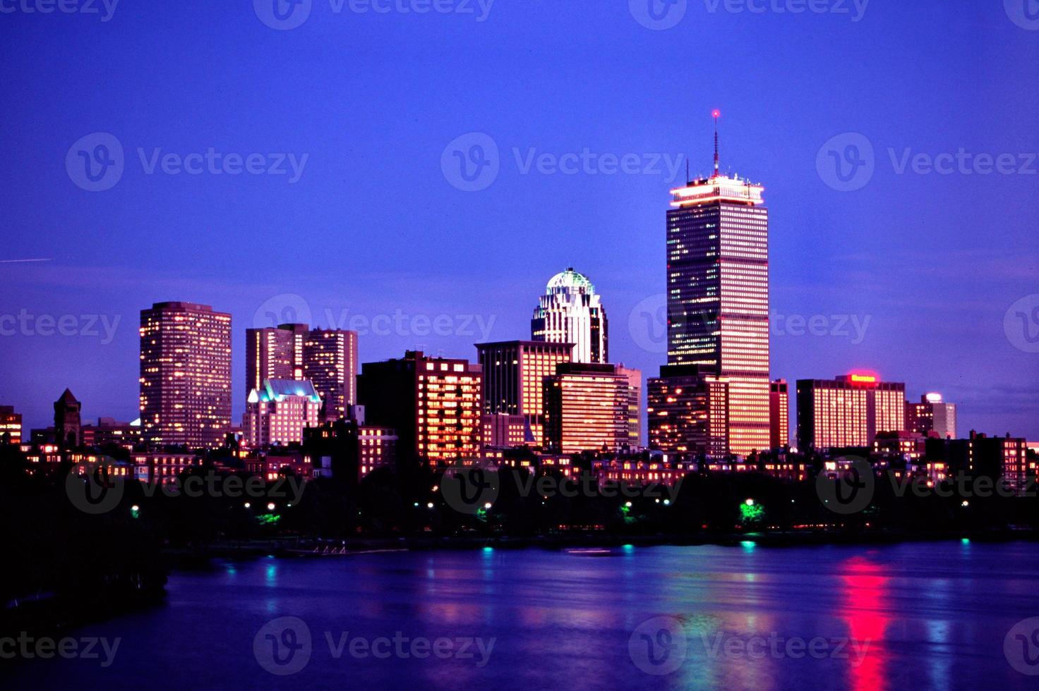 skyline de boston foto