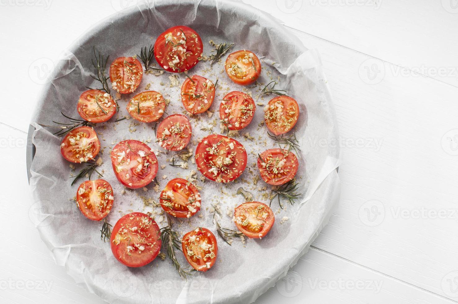 assadeira de tomate foto