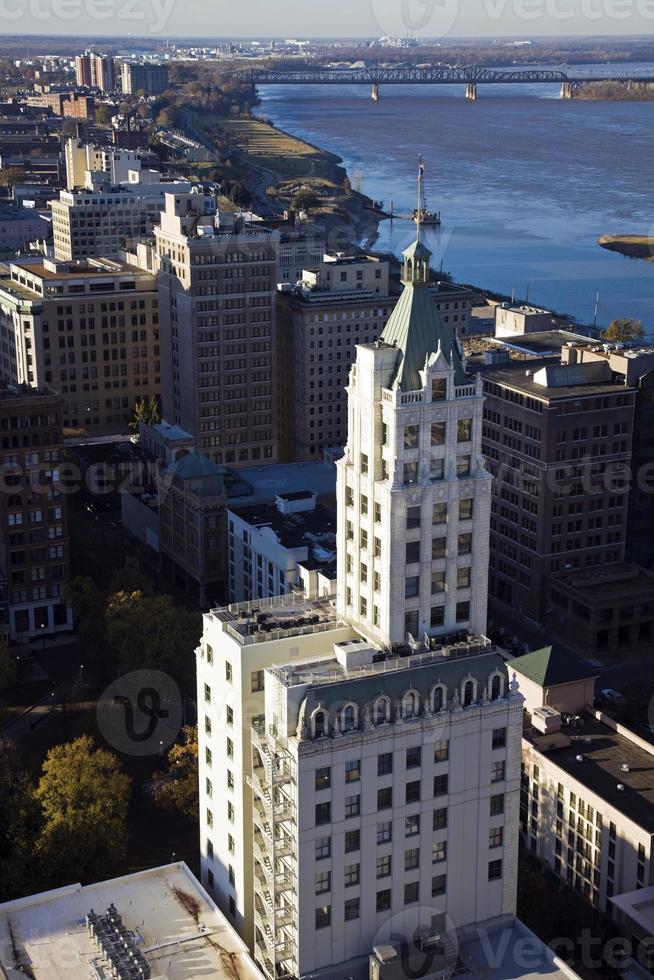 vista aérea de memphis foto
