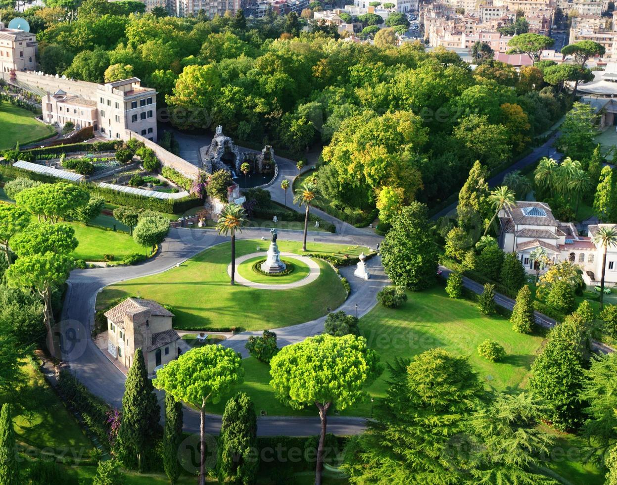 jardins do vaticano, roma foto