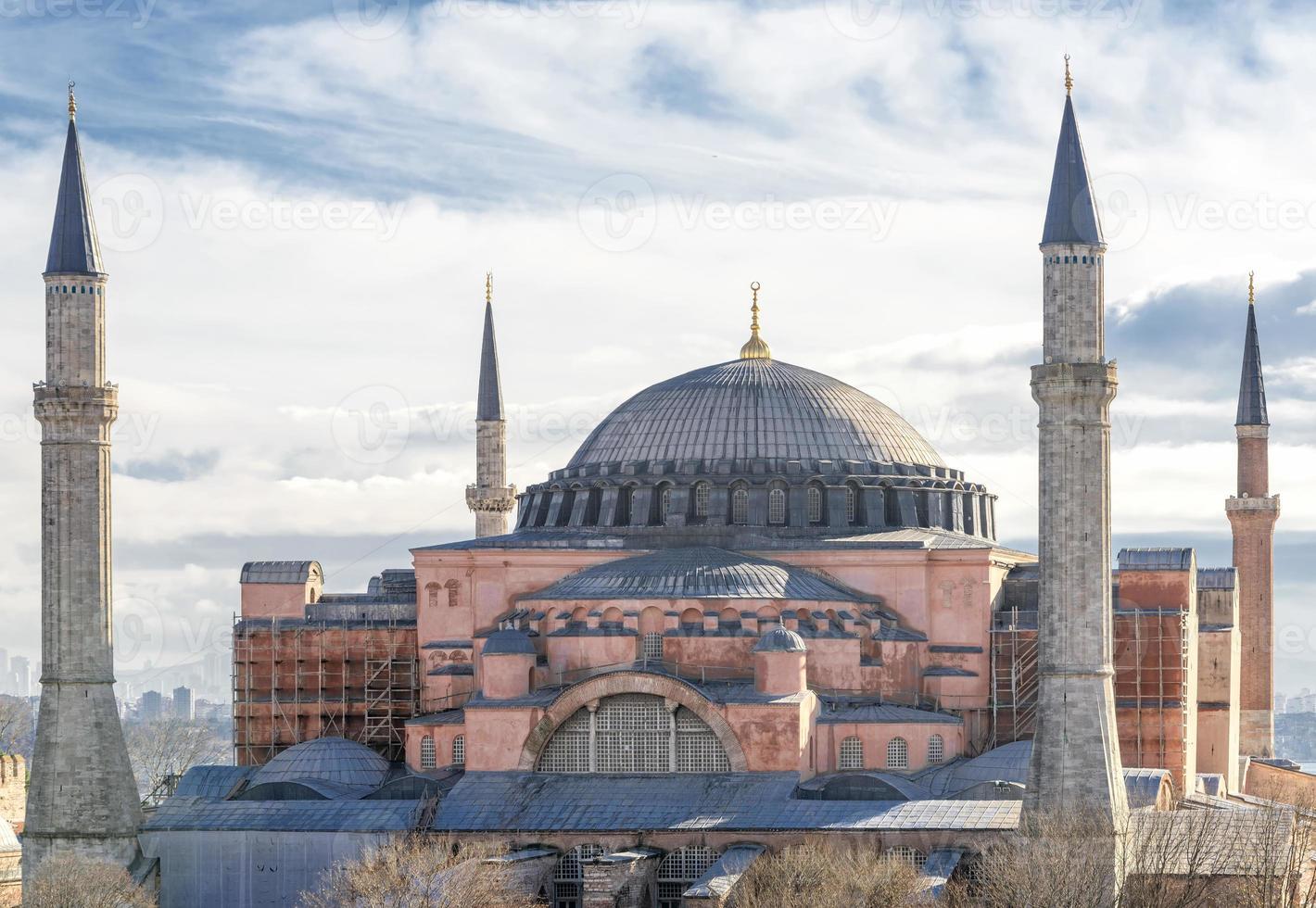 hagia sophia, istambul, turquia foto