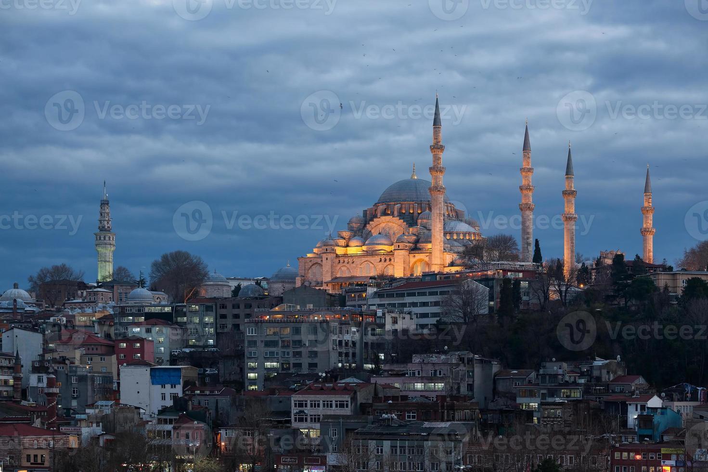 mesquita suleymaniye istambul foto