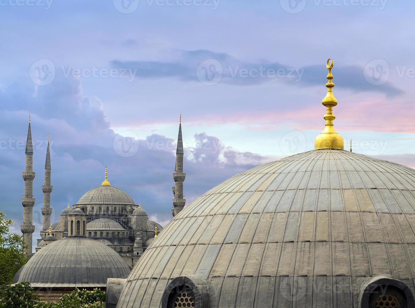 hagia sophia interior em Istambul, Turquia foto