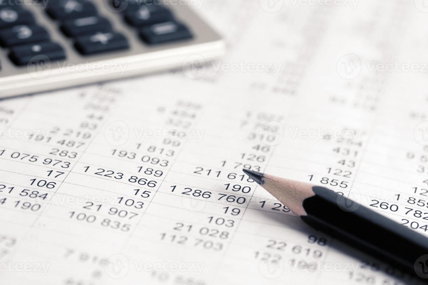 contabilidade financeira foto
