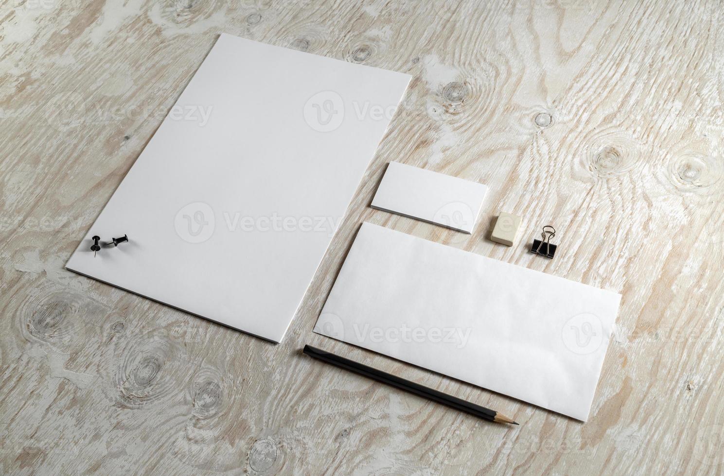 modelo de papelaria foto