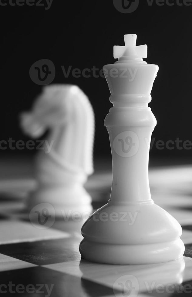 conceito de xadrez de conflito foto
