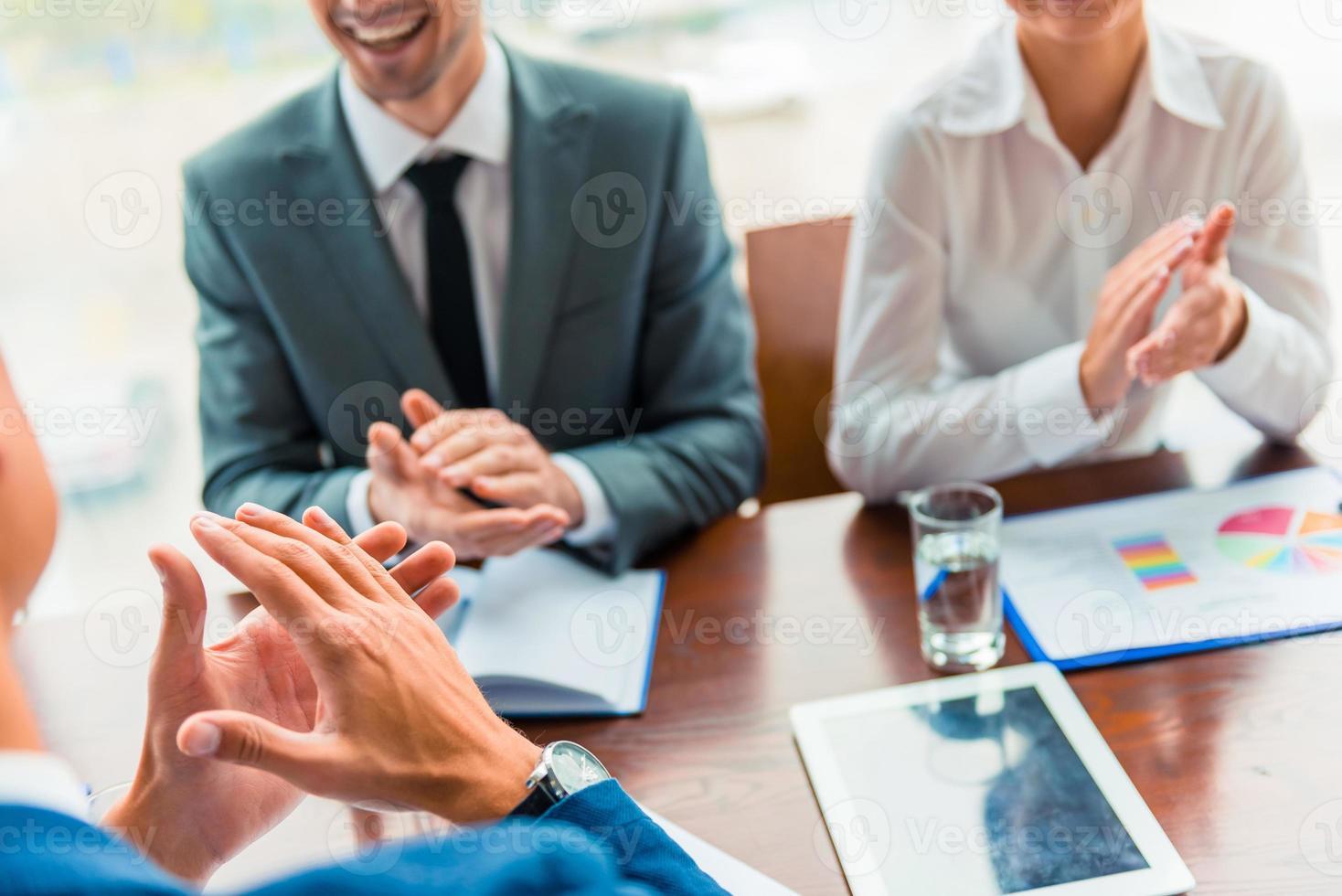 pessoas de negócios no escritório foto
