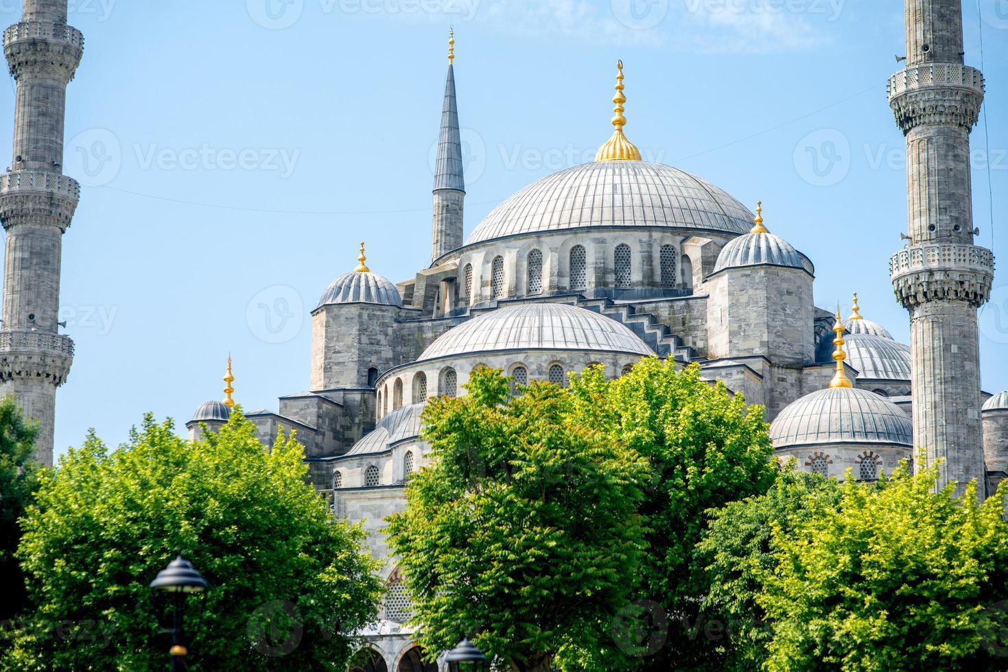 mesquita azul em Istambul foto