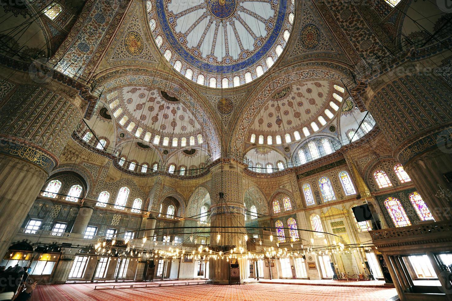 Mesquita de Sultanahmet foto