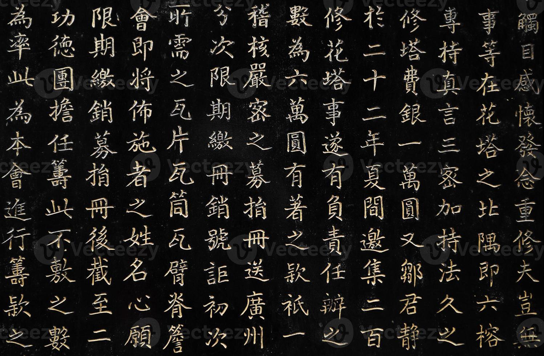 caracteres chineses, guangzhou foto