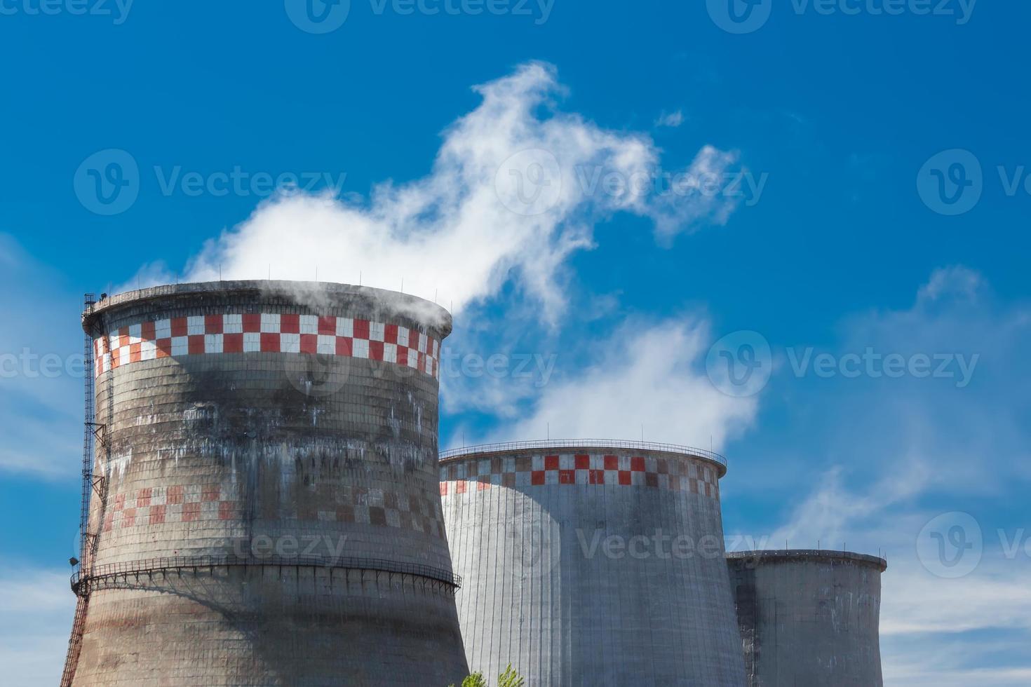 estação de energia térmica foto