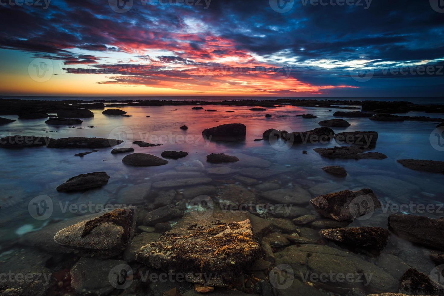 waipapa point sunset foto