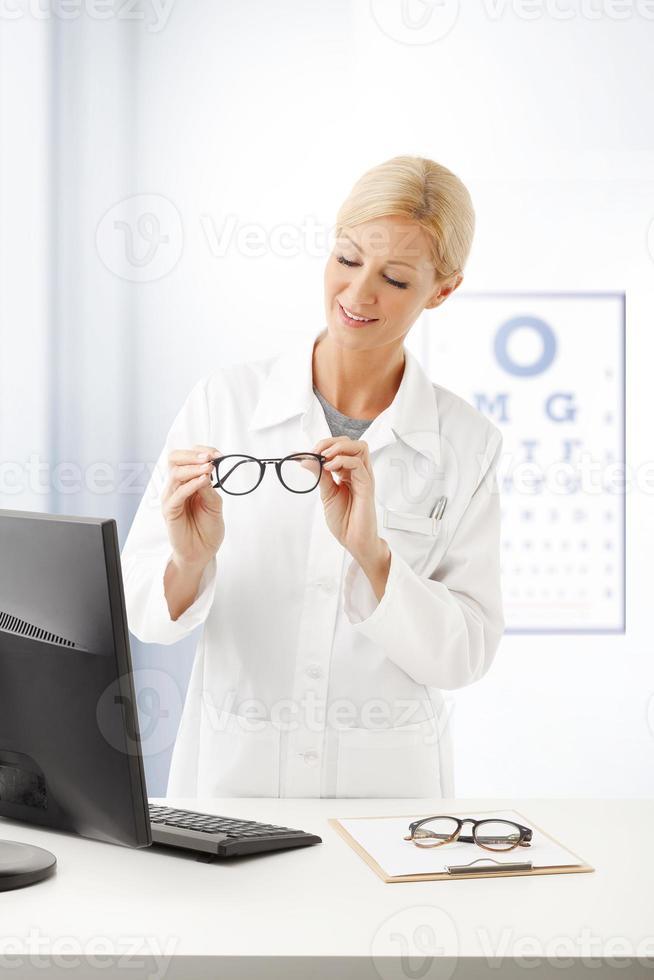 retrato médico feminino foto