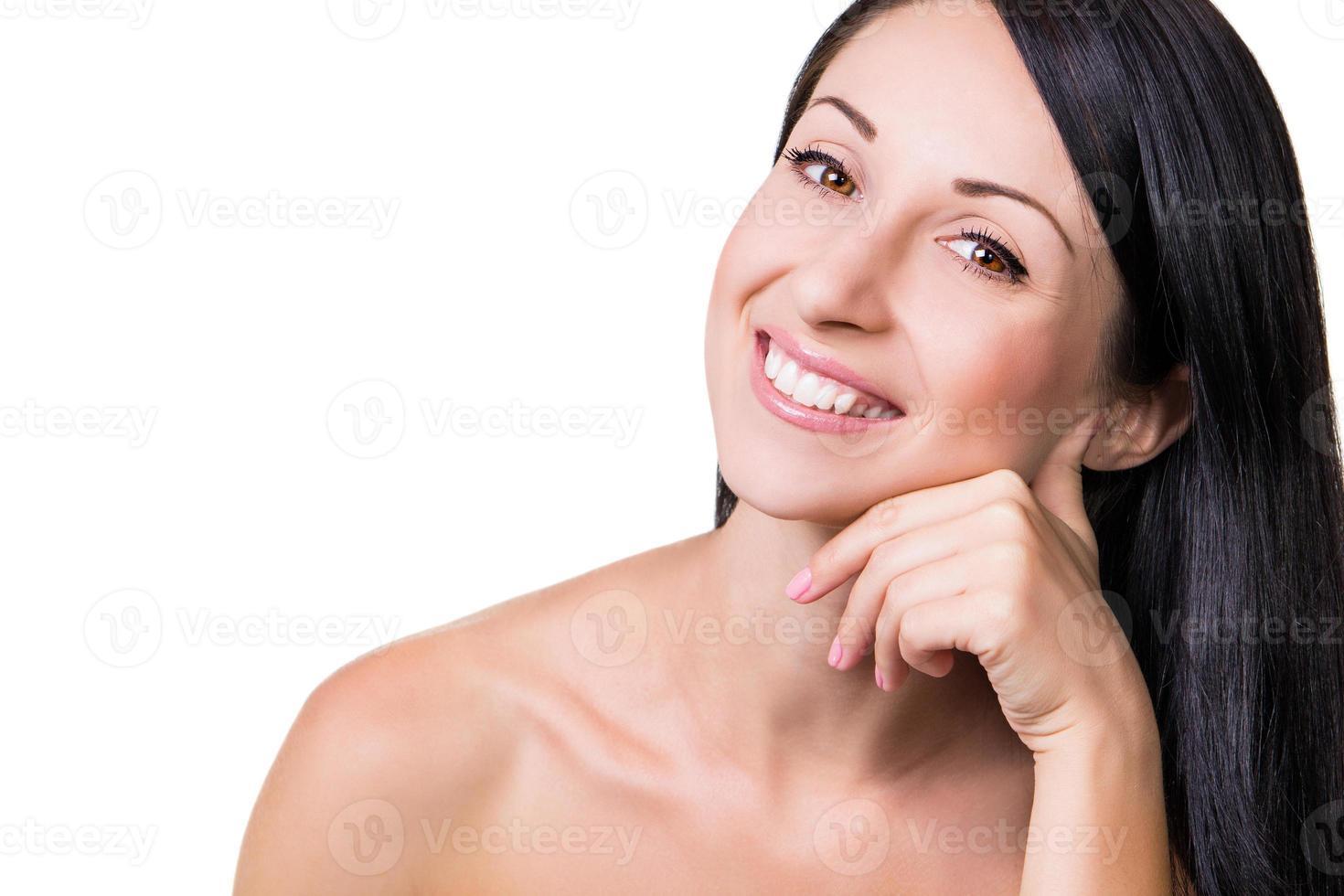 pura beleza jovem feminina foto