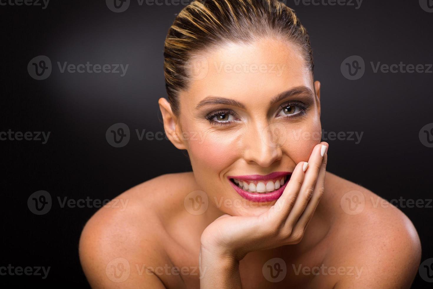 modelo feminino loiro foto