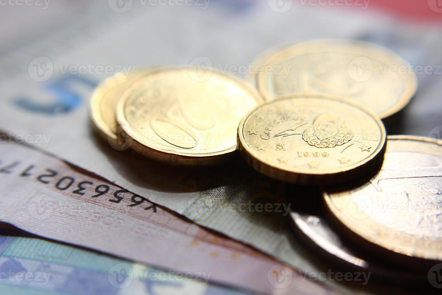 dinheiro brilhante foto