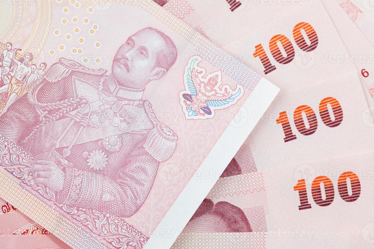 fundo de dinheiro tailandês foto