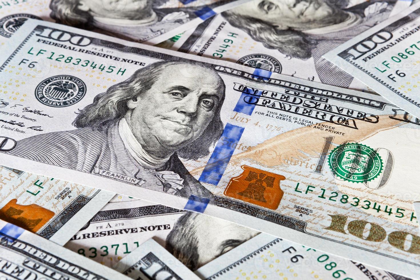 fundo de dinheiro - dólares foto